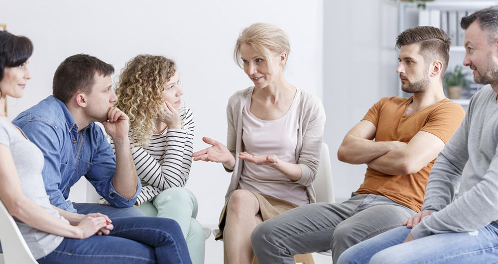 Group Therspy Session-Family Counseling Services